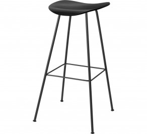 Барный стул Gubi 2D Bar Stool, Centerbase_Black_BlackStainedBeech