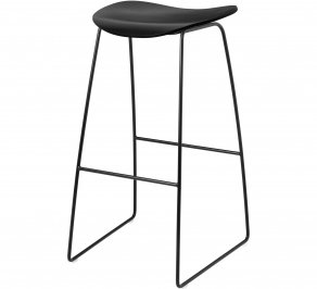 Барный стул Gubi 2D Bar Stool, Sledge_Black_BlackStainedBeech