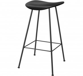 Барный стул Gubi 2D Counter Stool, Centerbase_Black_BlackStainedBirch
