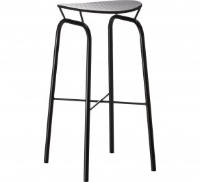 Барный стул Gubi Mategot Collection, Nagasaki_Stool_Black