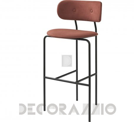 Стул барный Gubi Gubi Chair Collection - Coco_Barchair_Alcantara_407