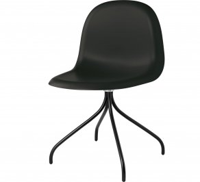 Офисное кресло Gubi 3D Meeting Chair, 3D_Swivel_Black_Hirek_Black