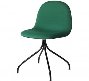 Офисное кресло Gubi 3D Meeting Chair, 3D_Swivel_Hirek_Black_Green