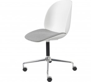 Офисное кресло Gubi Beetle Meeting Chair, 4StarCastors_Alu_Backhausen-Korb