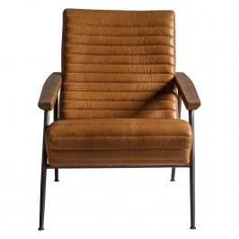 Кресло Lucera Armchair Brown Leather
