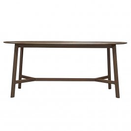Обеденный стол Madrid Oval Dining Table Walnut
