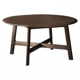 Журнальный столик Madrid Round Coffee Table Walnut