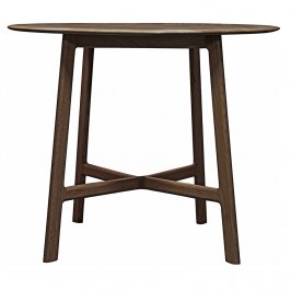 Обеденный стол Madrid Round Dining Table Walnut