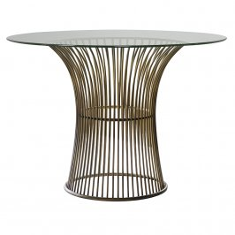 Обеденный стол Zepplin Dining Table Bronze