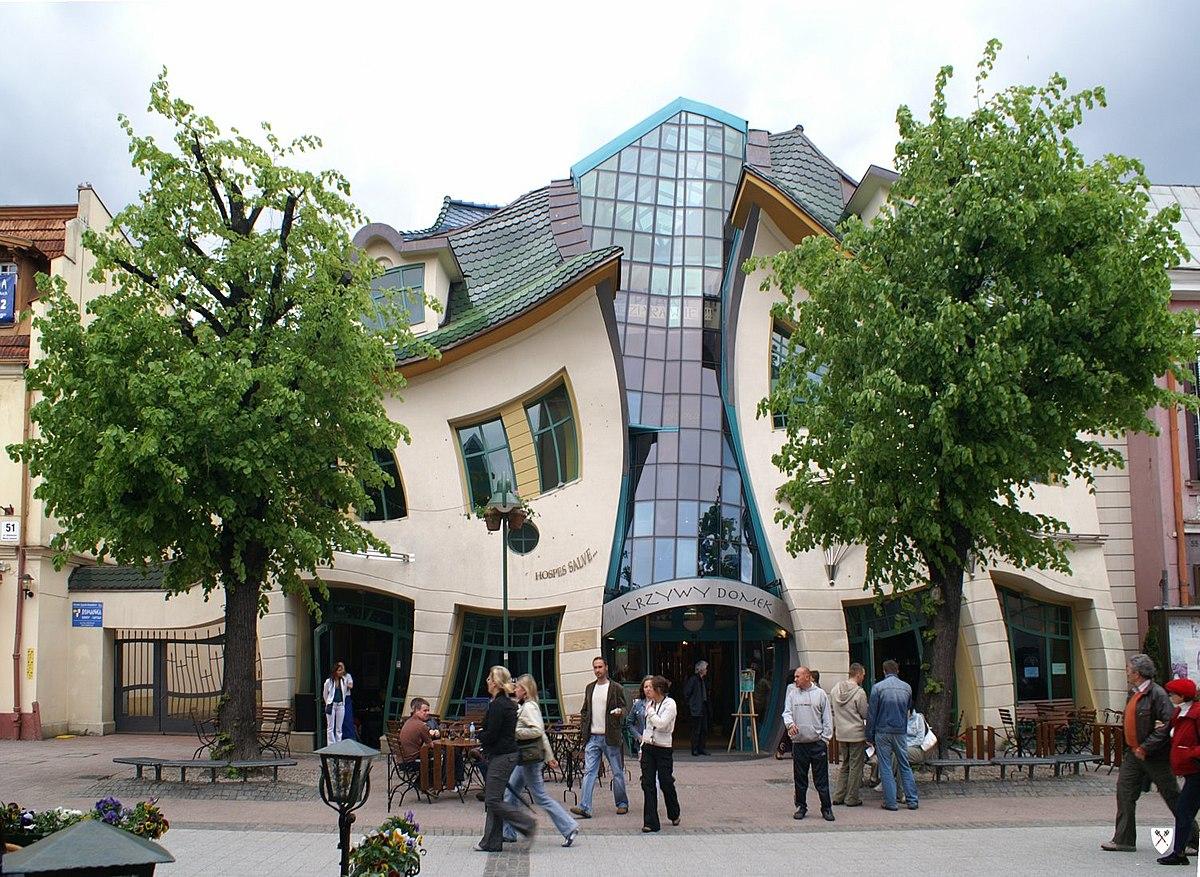 Топ самых странных зданий в мире